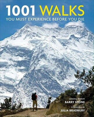New 1001 Walks You Must Experience Before You Die By Barry Stone