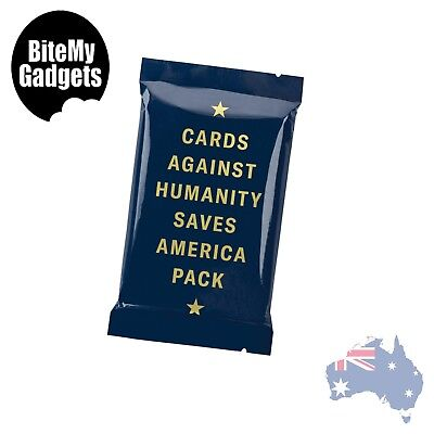 Cards Against Humanity - CAH Saves America Expansion Pack - Genuine - NEW