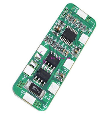 4S PCB BMS Protection Board for 4 Packs 18650 Li-ion 4A 5A lithium Battery Cell
