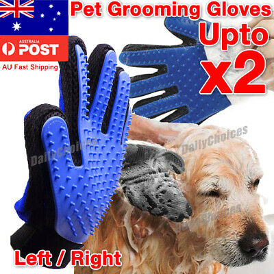 Touch Cleaning Brush Magic Glove Pet Dog Cat Massage Hair Removal Grooming Comb