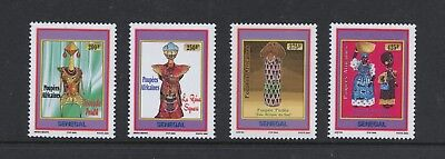 Senegal 2006 #1583-6 art dolls 4v. MNH K919