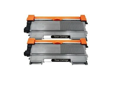 2PK Brother Compatible TN760 TN730 High Yield Black Toner Cartridge (NO CHIP)
