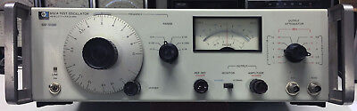 HP-652A Test Oscillator (10 Hz-10 MHz), Excellent Working Condition, With Manual
