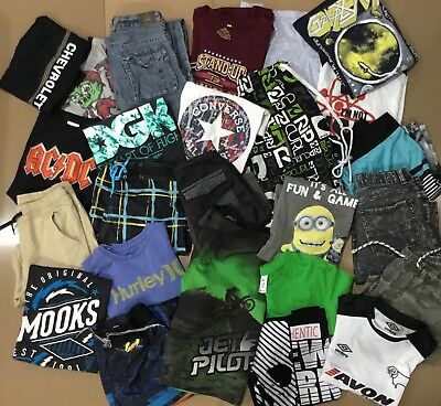 BOYS SZ 10 - 12 CLOTHING  CLOTHES - country road Ripcurl converse