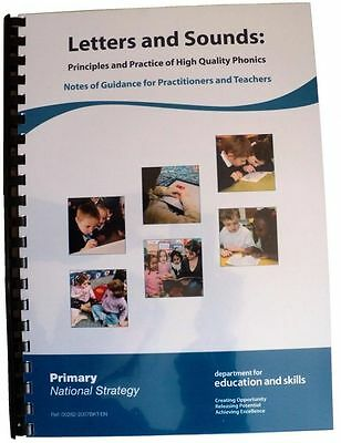 Letters and Sounds Principles and Practice of High Quality Phonics Book + Notes