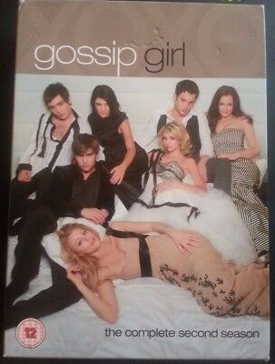 Gossip Girl - Series 2 - Complete Second Season (DVD, 2009, Box Set) FREE P&P