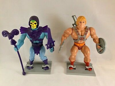 Vintage He Man MOTU Masters of the Universe Figure Stands (1982-88)