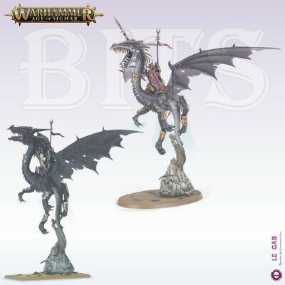 Bits Aelves Dreadlord Sorceress On Black Dragon Order Warhammer Aos