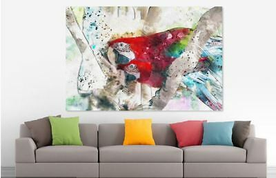 Beautiful Colorful LOVELY BIRDS Canvas collection Home decor wall print art