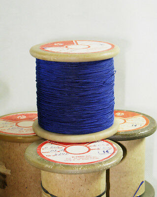 USSR PELSHO enameled copper Wire with silk insulation !!! -20/% 22 AWG 0.64mm