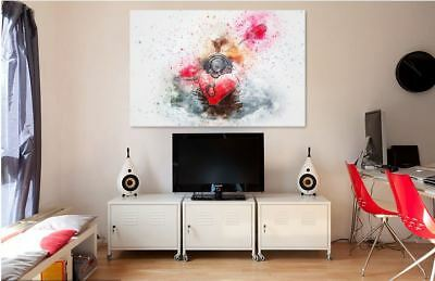 Beautiful Colorful WATERCOLOR Canvas collection Home decor wall print art