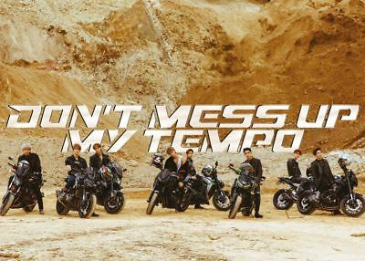 EXO [DON'T MESS UP MY TEMPO] 5th Album MODERATO CD+FotoBuch+Karte+ K-POP SEALED