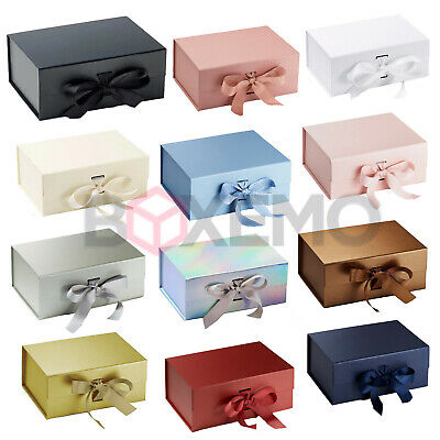 Gift Box Large Gift Box Gift Box With Ribbon Magnetic Boxes Large Gift Box