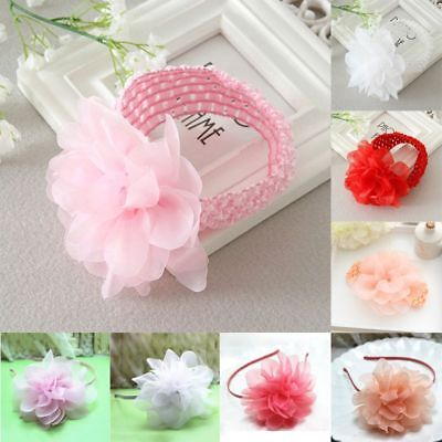 Cute Baby Girls Flower Hair Clip Hairpin Toddler Kids Children Hair Accesso Y3T7