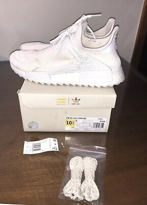 721a18a6322f0 ADIDAS PHARRELL WILLIAMS Human Race Holi NMD Blank Canvas Size US10 ...