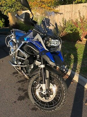 ! SOLD ! BMW R1200GS Adventure TE in Lupin Blue &  Signature CD Graphics