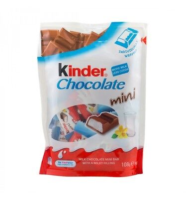 Kinder Mini Chocolate 108g T18 x 12