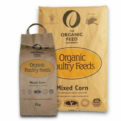 Allen & Page Organic Mixed Corn 5kg/20kg Poultry Feed Non GM Ingredients