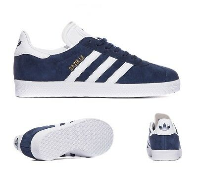 competitive price 7ebad 7a99c Men s Adidas Gazelle Collegiate Navy White Gold Trainers RRP £74.99 SAVE £30