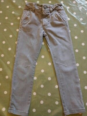 Next Light Grey Boys Denim Jeans 4 Years In Excellent Condition!