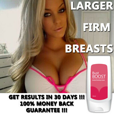 Bust Boost Breast Enlargement Cream Lotion Bigger Firmer Sexy Boobs!!