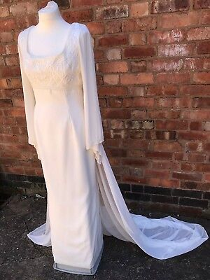Vintage  Wedding Dress in Ivory -  ** New without tags **