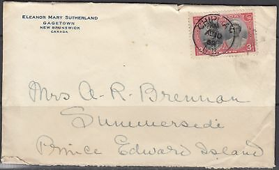 Canada - Aug 1939 Chipman, NB CDS Cancel on Advertising Cover