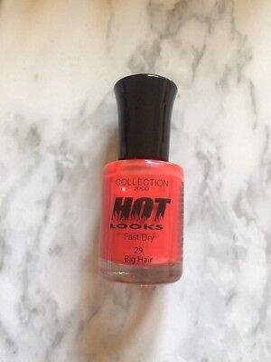 Collection 2000 Hot Looks Nail Polish Fast Dry, #29 Big Hair, Size 8ML