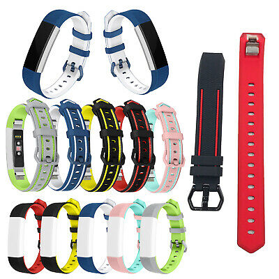 Silicone Watch Band Fashion Bracelet Wrist Strap Replacement for Fitbit Alta HR