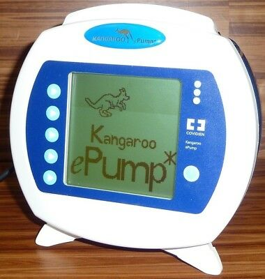 Covidien Kangaroo Epump Enteral Feed w/ Charger TESTED