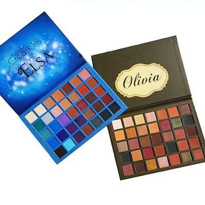 Beauty Creations Elsa or Olivia Eyeshadow Palette 35 Color  Free US shipping