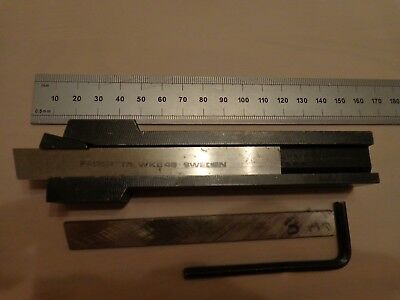 SECO -SECORAPID  Lathe  Parting Off Tool HSS Blade Type Tool (  Made in Sweden )