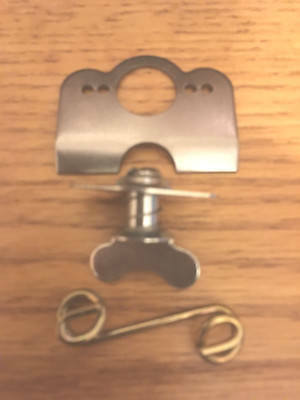 """5 STEEL5/16"""".500""""1/4 Quick Turn Dzus Fasteners Winged Self Eject,Springs,Plates"""