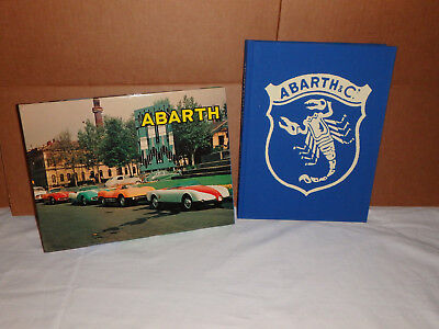Faza-Car-Graphic-Abarth-Guide-With-Slip-Cover-Case-Alfred-Cosentino-Book