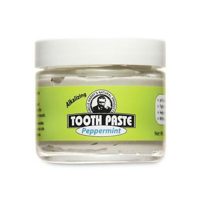 Peppermint Toothpaste by Uncle Harry's Natural Products (3oz Toothpaste)