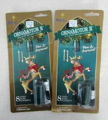 Ornamotor ll Up and Down Ornamotion Ornament Motor NIB Roman 2 Packages