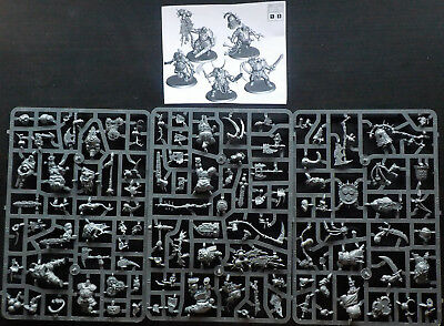 Warhammer Age of Sigmar Chaos Putrid Blightkings x5 (On Sprue)