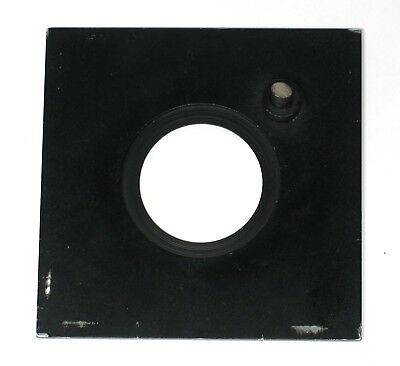 Beseler 23C 4x4 Lens Board w Pilot Light 39mm Opening and 50mm Counterbore