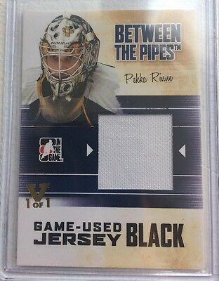 10/11 Between The Pipes - Pekka Rinne - Jersey - Itg Final Vault 15/16 #1/1 Gold