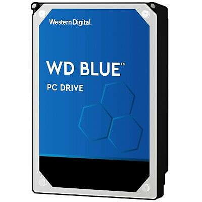 "Western Digital WD Blue 1TB 2TB 3TB 4TB 6TB 3.5"" SATA Internal Hard Drive HDD"