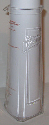 "Cointreau 10.25"" Glass Pitcher Decanter with Grapefruit Rickey Recipe, Markings"