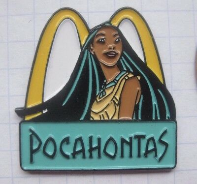 M /  POCAHONTAS / DISNEY .............Comic Mc DONALD`s -Pin (156h)