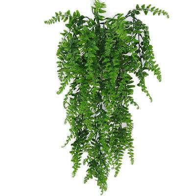 Artificial Ivy Green Plant Outdoor Garden Home Decor Wall Hanging Fake Vines