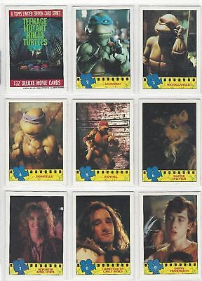 Teenage Mutant Ninja Turtles TMNT - Complete Card Set (132/11) 1990 - NM
