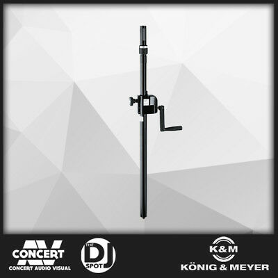 K&M 21340 Distance Rod with Hand Crank and Ring Lock