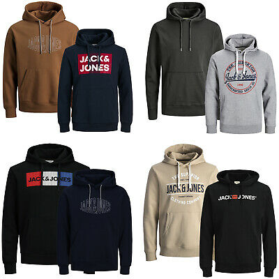 "Jack Jones Kapuzenpullover "" 2er Pack "" Hoodie Sweat Herren Sale % S M L XL XXL"