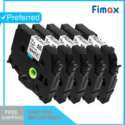 1Pk Compatible Label Maker Tape 12mm for Brother P-Touch TZ-231 TZe-231 PT-D210