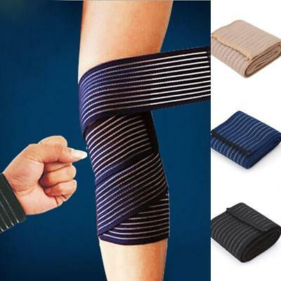 Wrist Knee Ankle Elbow Arm Support Bandage Wrap Compression Brace Sports WO