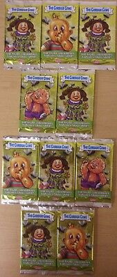 The Garbage Gang ~ Topps Trading Card Game ~ 10 x Sealed Packs = 50 Cards