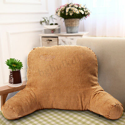 Plush Back Pillow Support Cushion Arms Bed Car Office Home Rest Seat Chair Cover